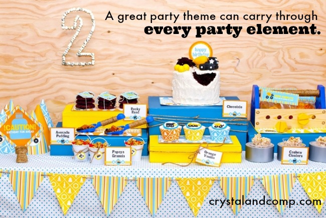 100 Kids Birthday Party Themes