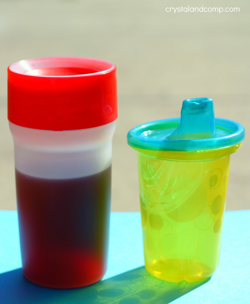 no spill sippy cup
