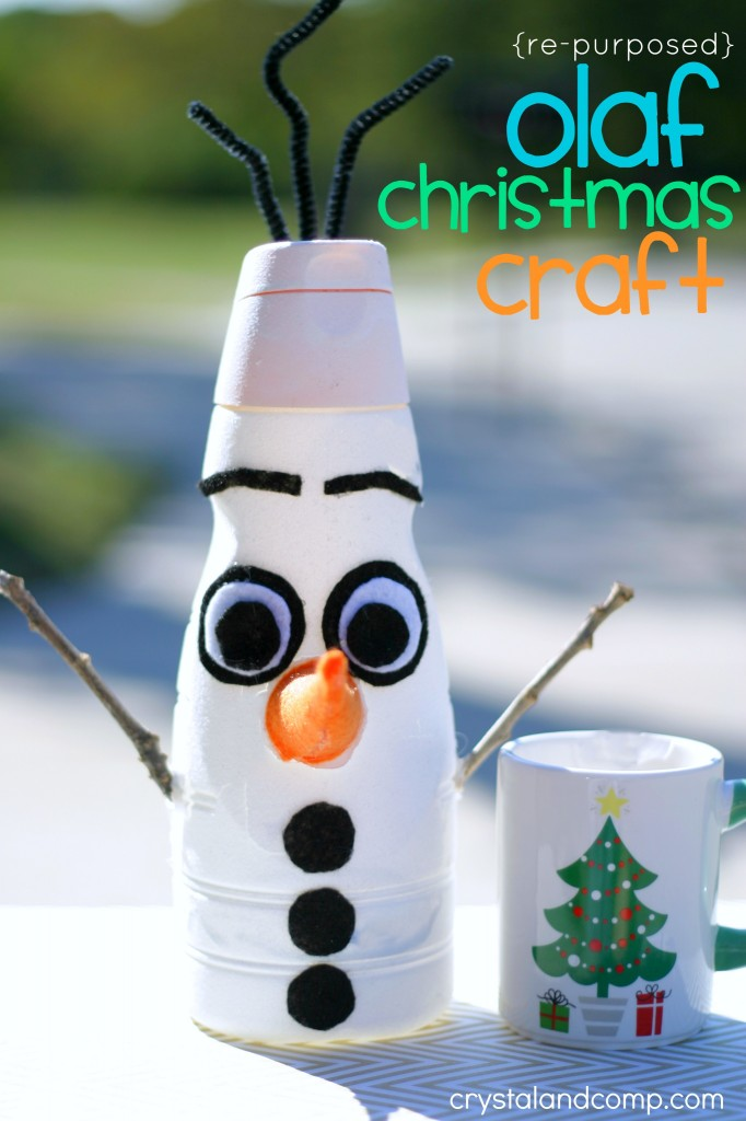 olaf christmas craft