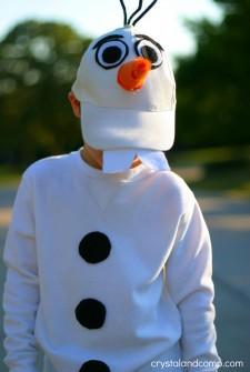 How to Make an Olaf Costume on a Budget
