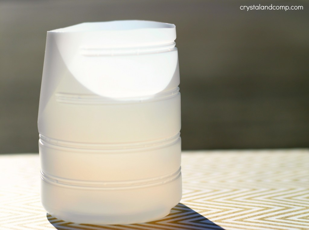 plastic coffee creamer container