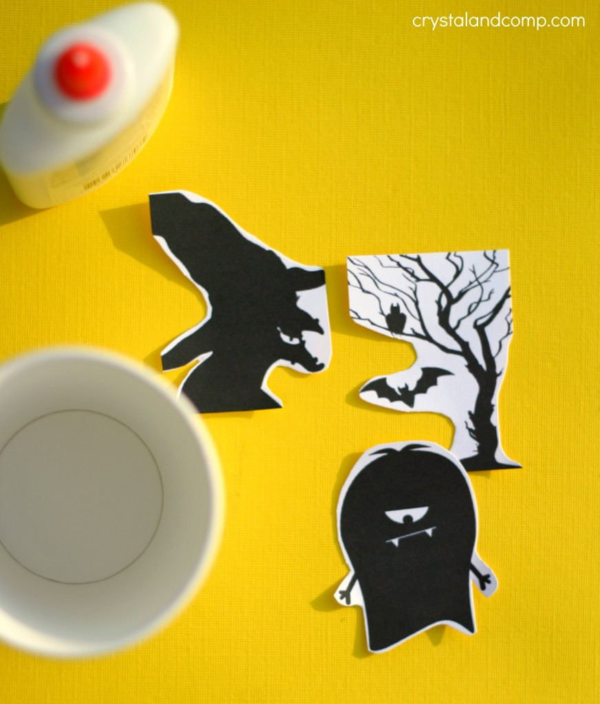printable Silhouettes from dollar tree