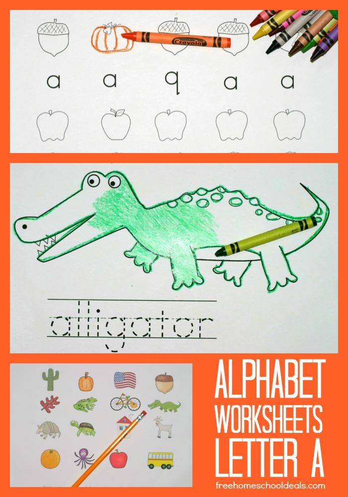 printable alphabet worksheets letter a