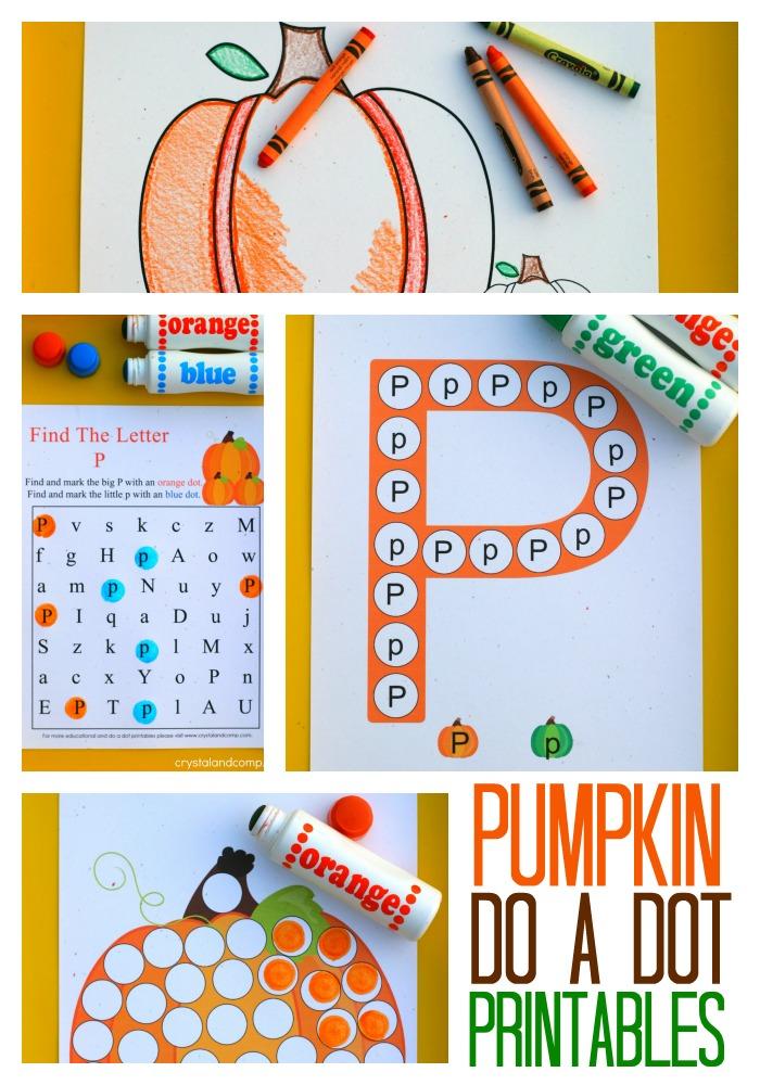 pumpkin coloring printables