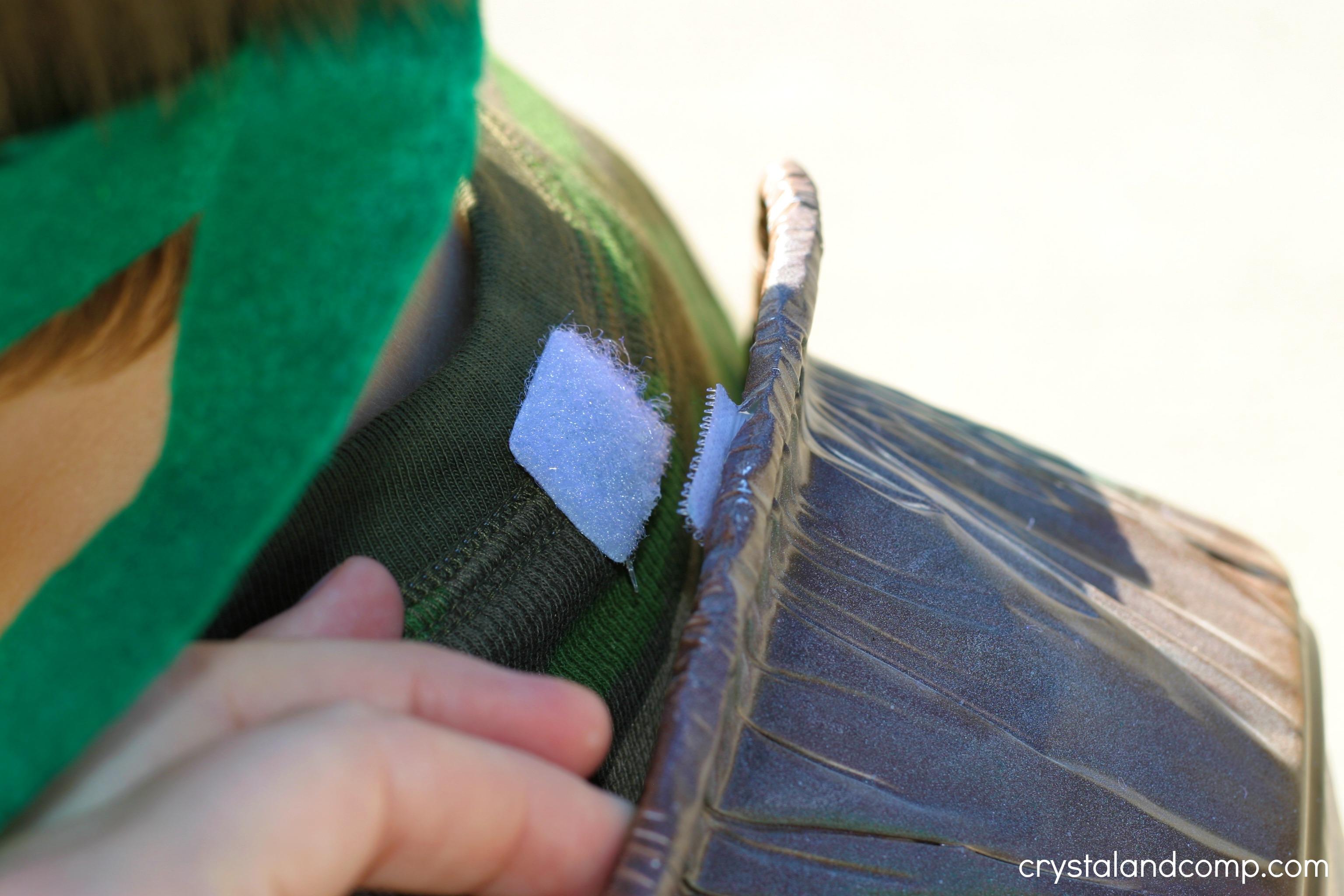 how to make a teenage mutant ninja turtle costume