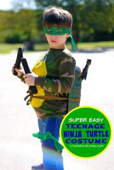 teenage ninja turtle costume