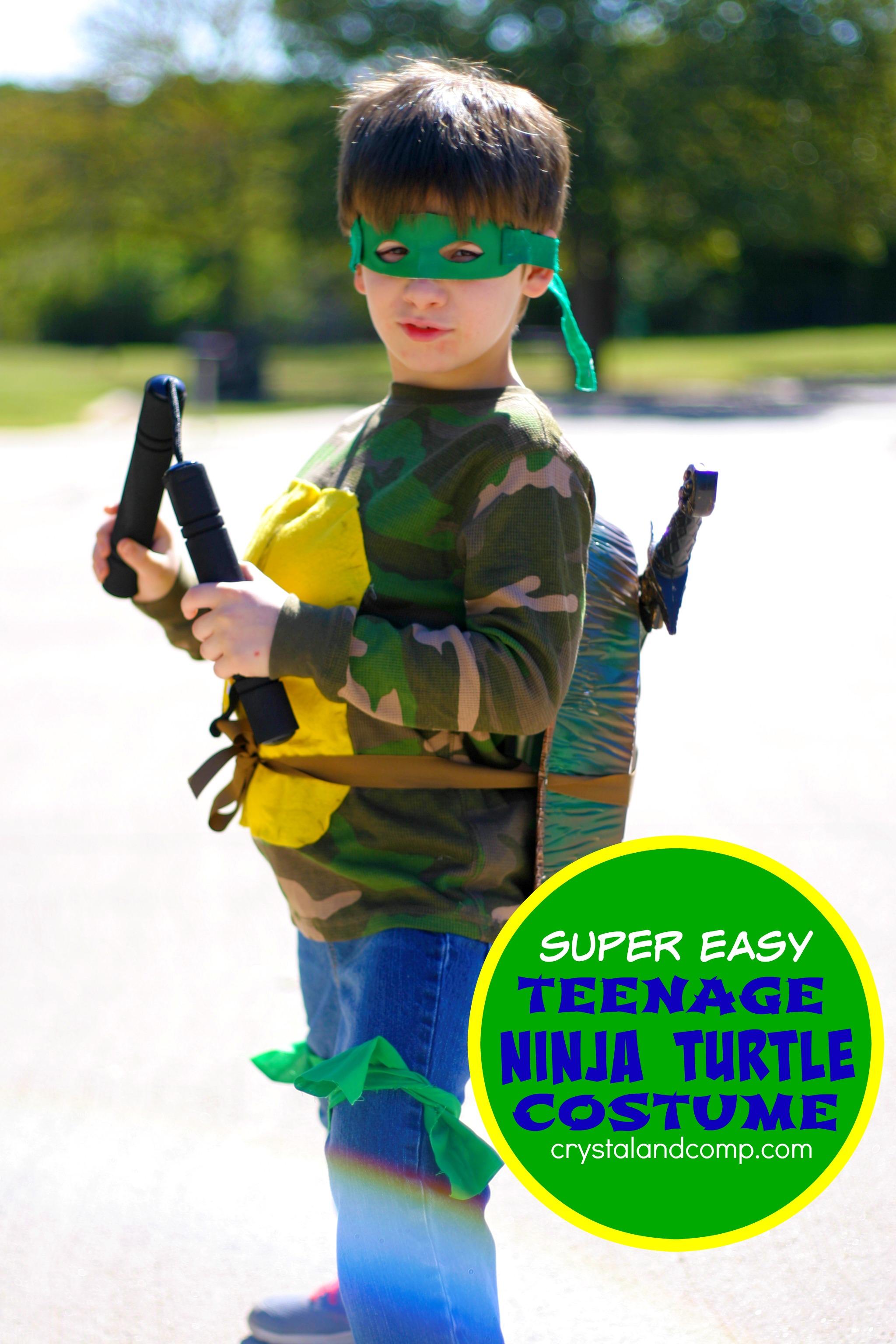 Diy Ninja Turtle Costume
