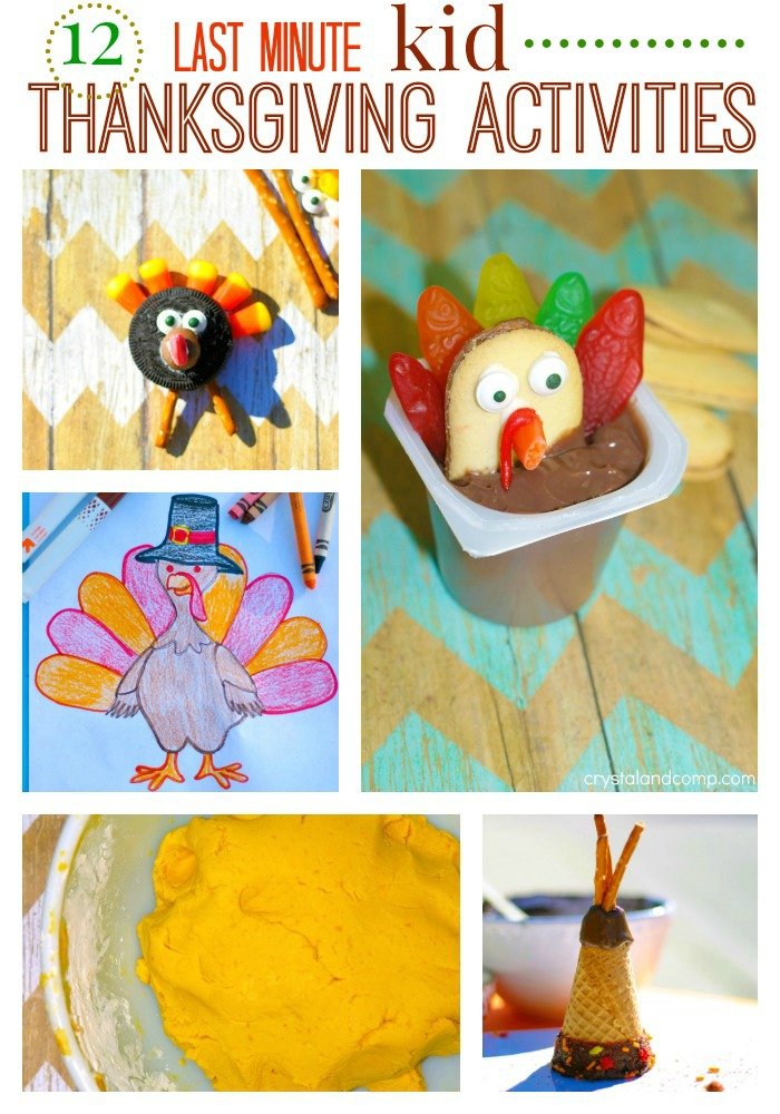 12 thanksgiving activities for kids