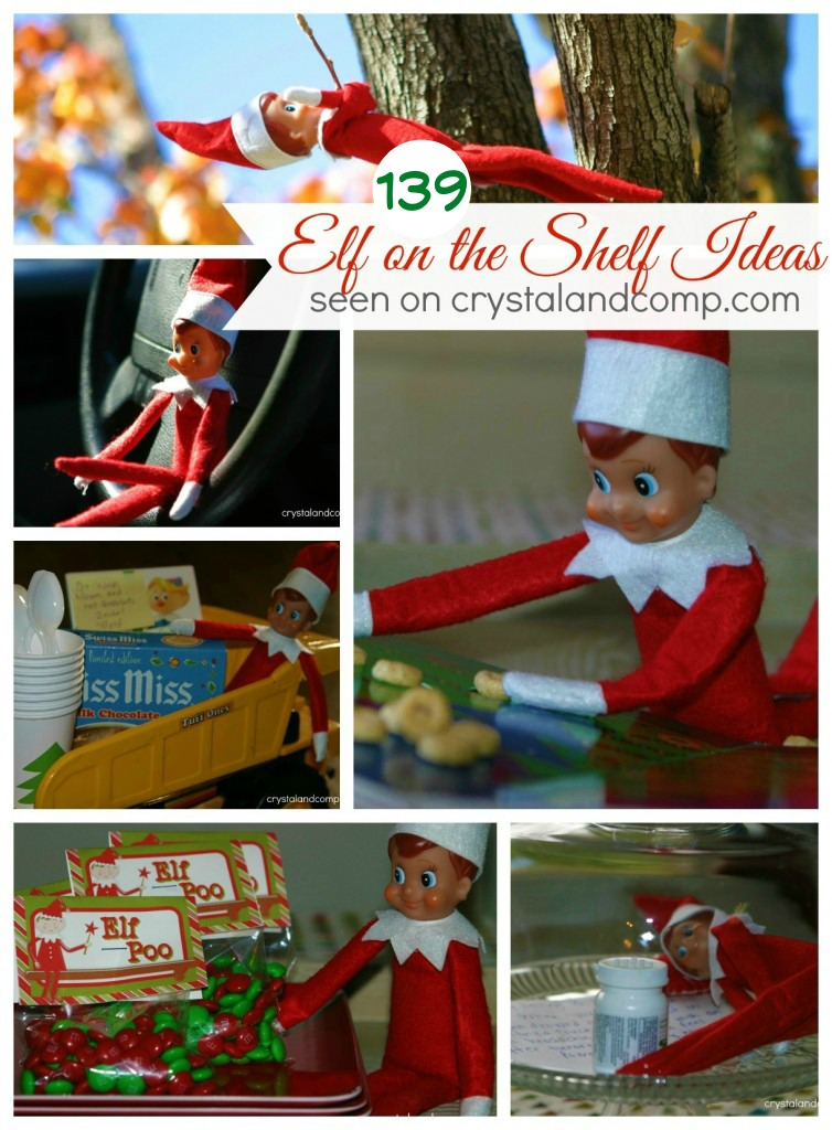 139 elf on the shelf ideas