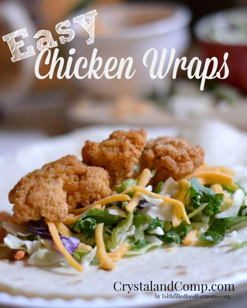 Easy Chicken Wraps