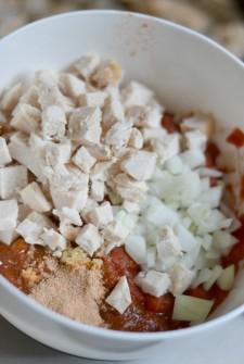 Mexican Chicken Corn Casserole 1