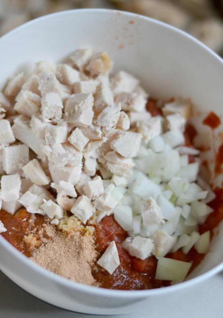 Mexican Chicken Corn Casserole