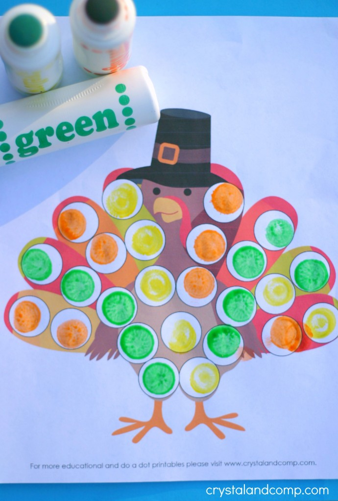 do a dot printables for kids