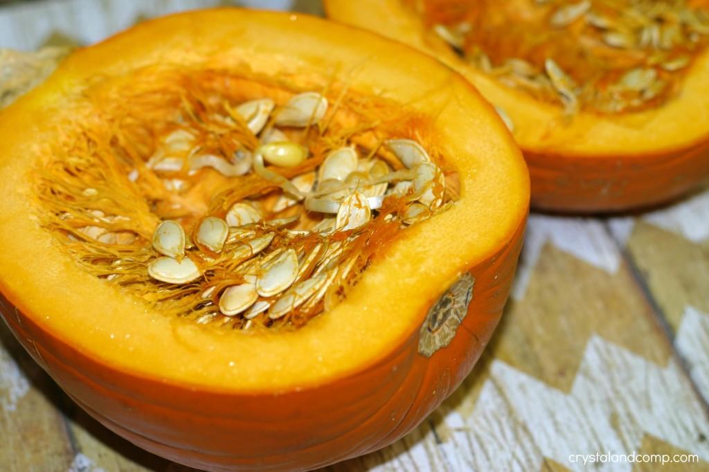 how to use a pie pumpkin to make a homemade pie