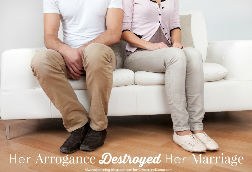 marriage advice about arrogance