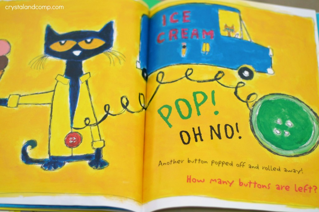 pete the cat button book