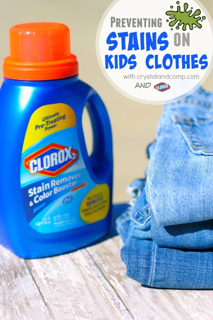 Removing Irritating Stains On Kids Clothes