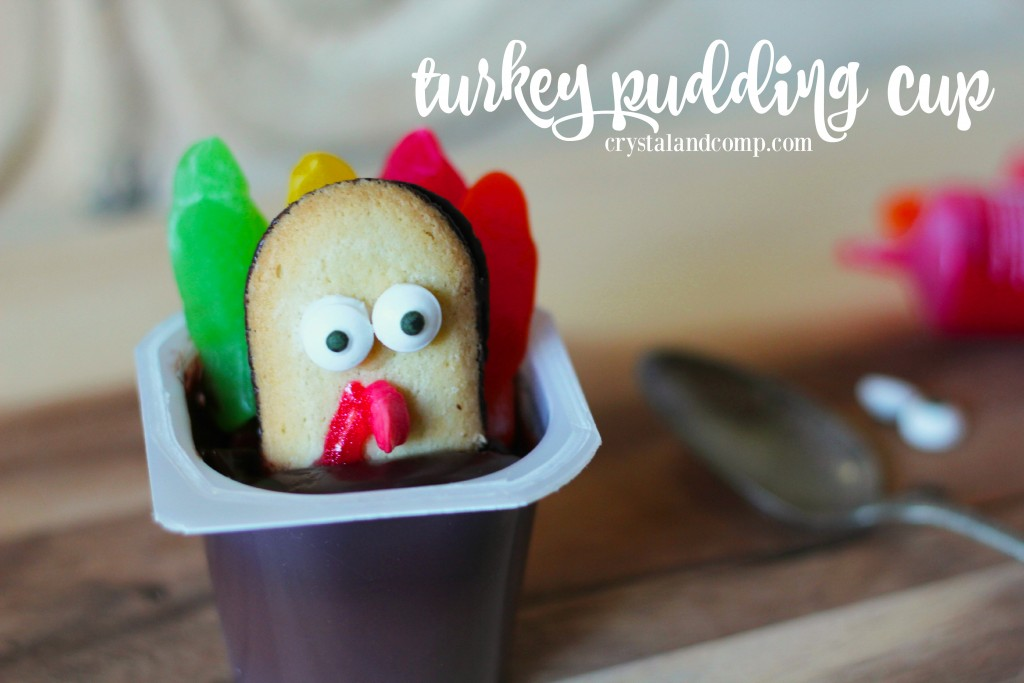 turkey pudding cup