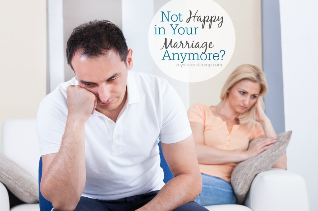 Not happy in your marriage anymore?