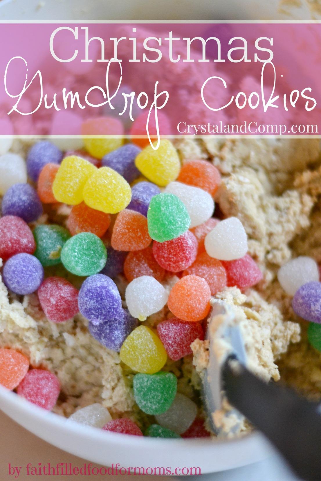 Christmas Gumdrop Cookies | CrystalandComp.com