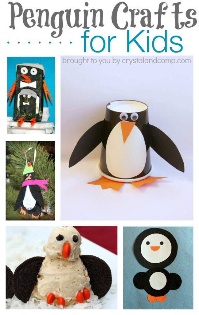 26 P is for Penguin Crafts for Preschoolers