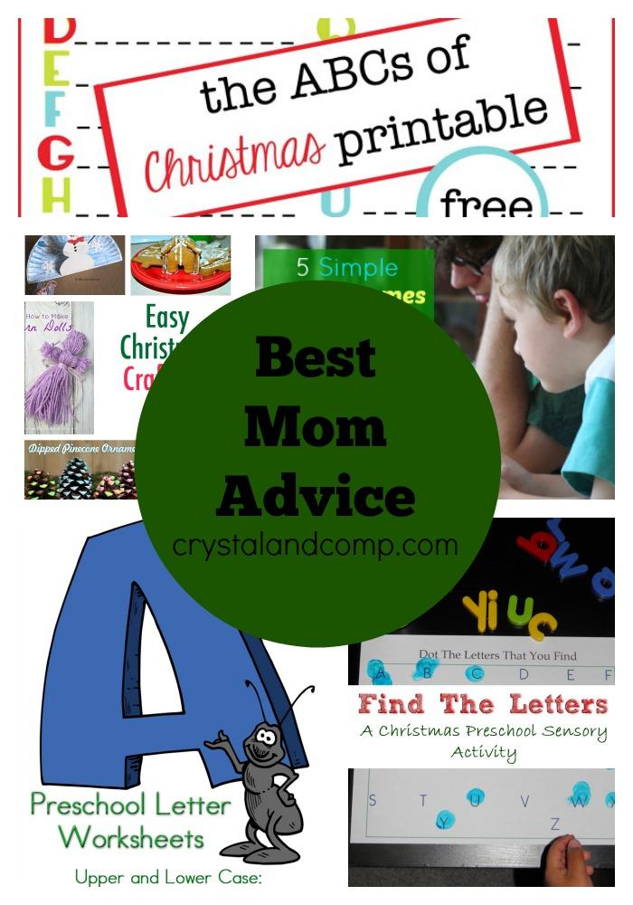 best mom advice 12062014
