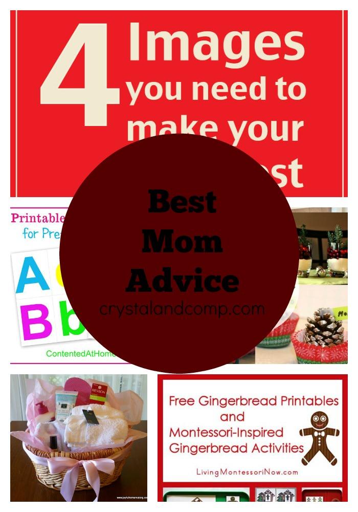 best mom advice 12202014