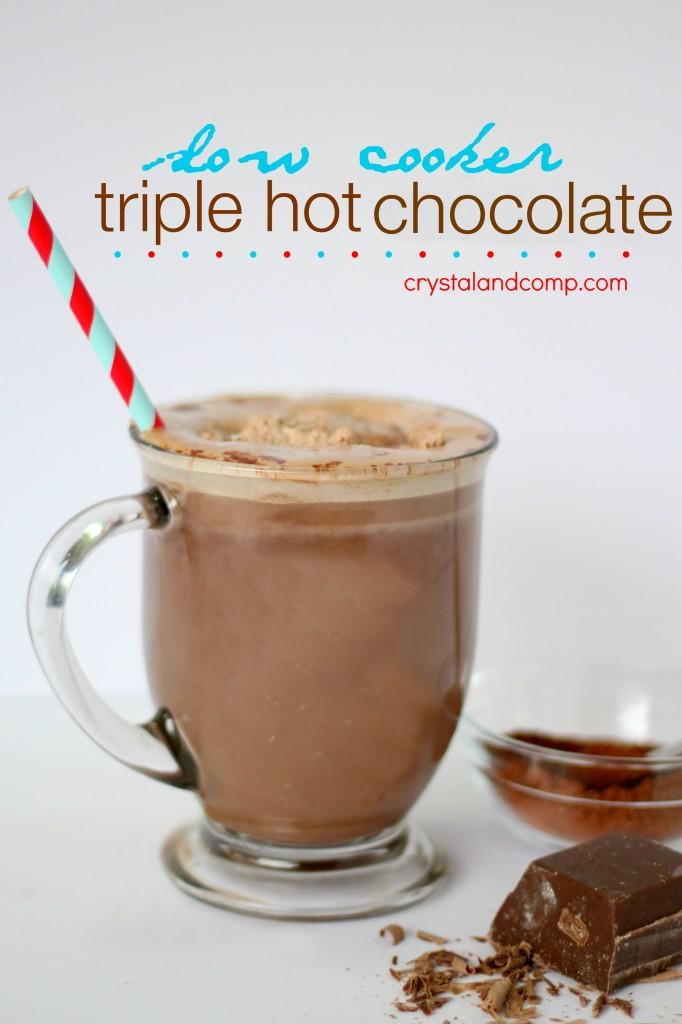 how to make crockpot hot chocolate