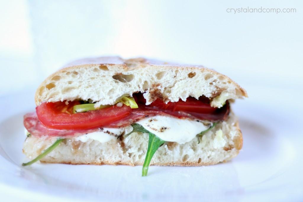 delicious pizza hut inspired sandwich