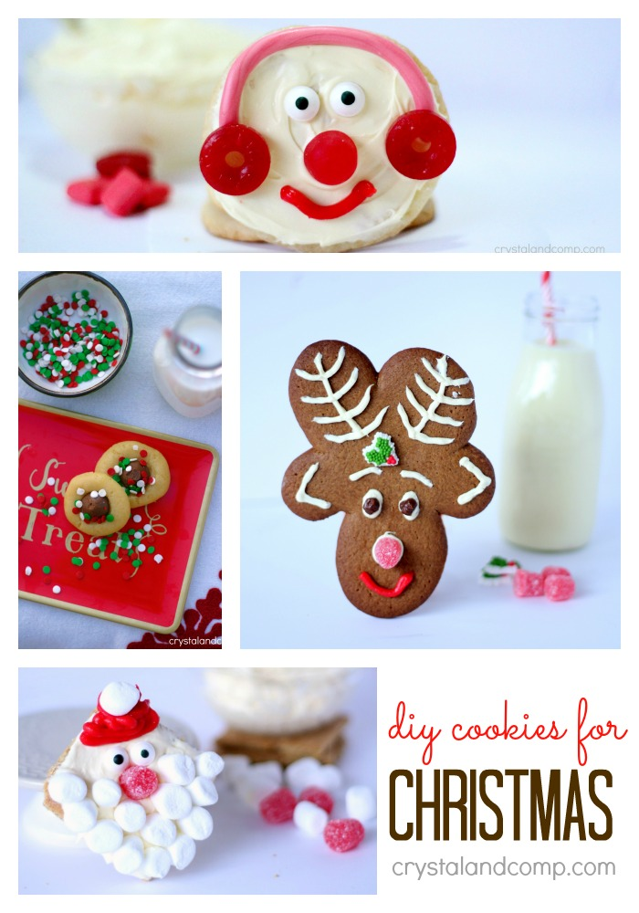 easy Christmas cookies for Santa that kids can help you make