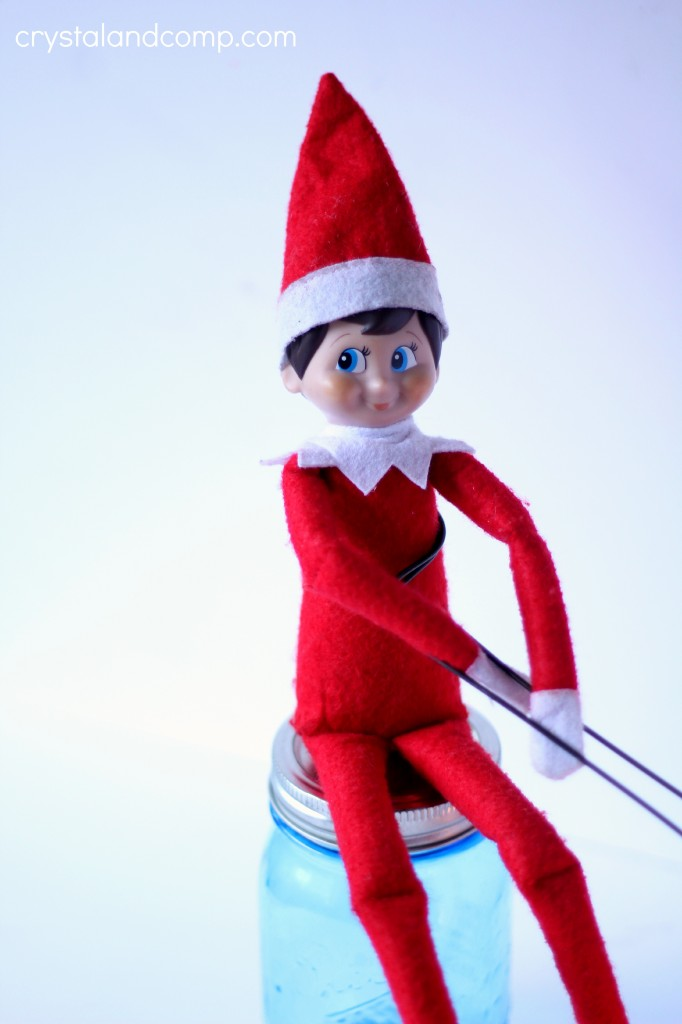 how to make smores with elf on the shelf