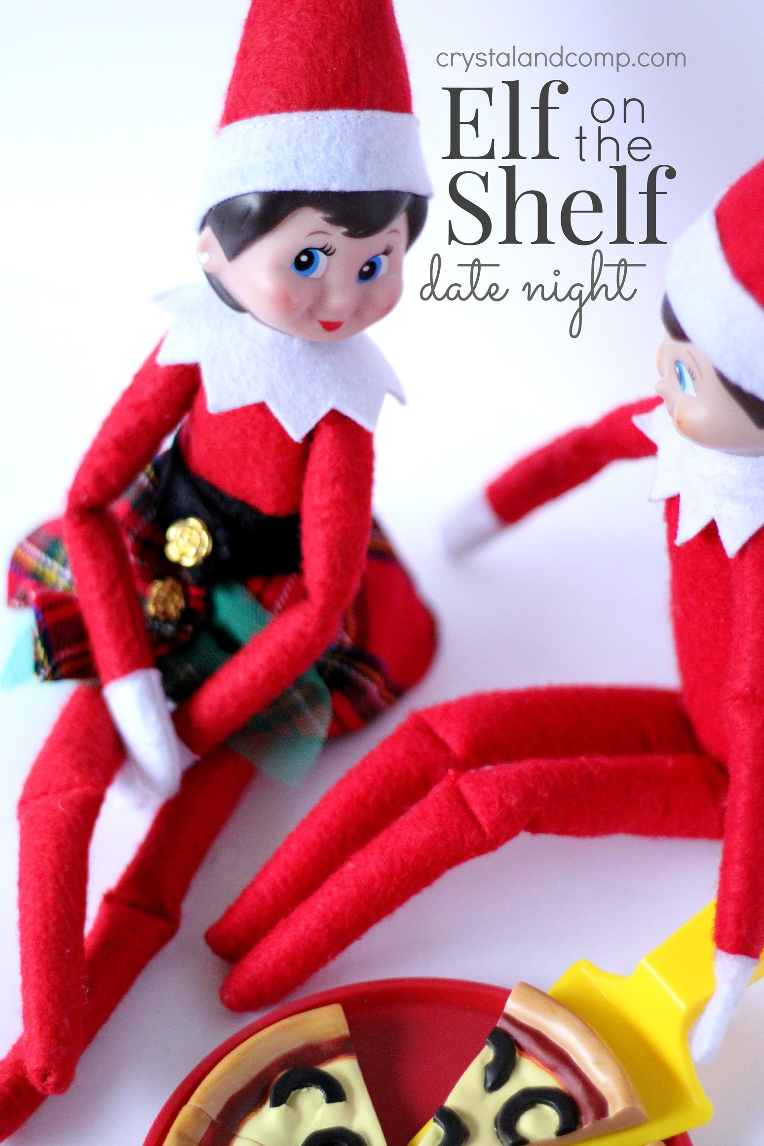 Elf on a Shelf Ideas: Date Night