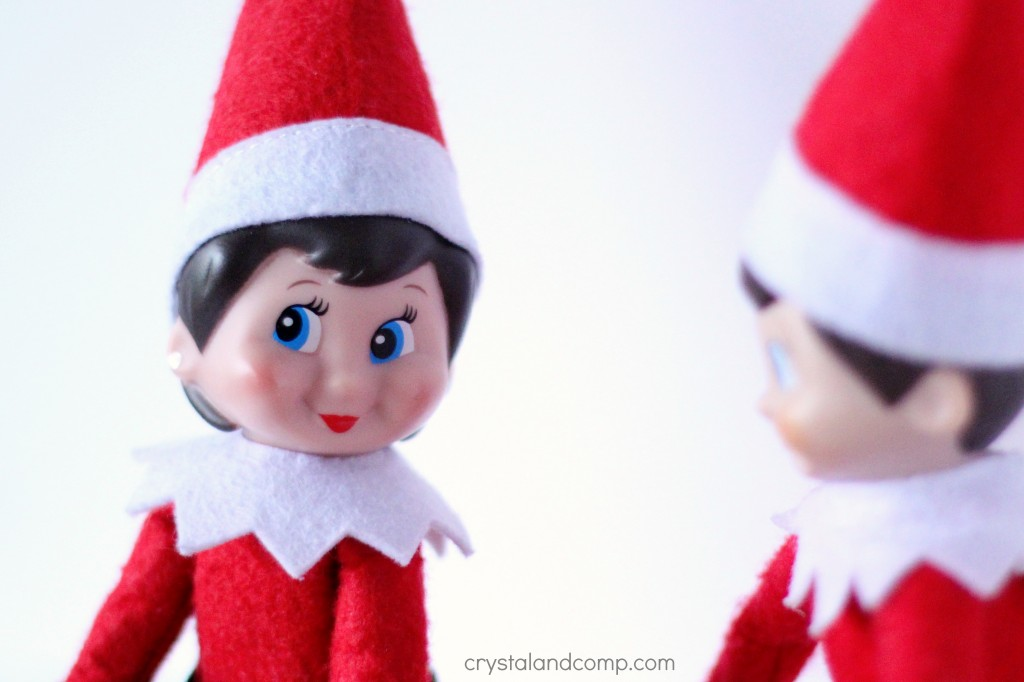 elf on the shelf ideas girl elf and boy elf in love