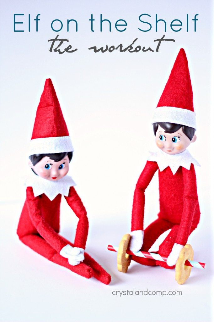 elf on the shelf ideas workout