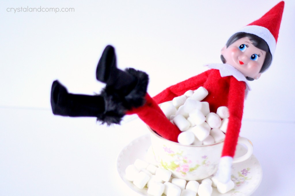 girl elf on the shelf pictures