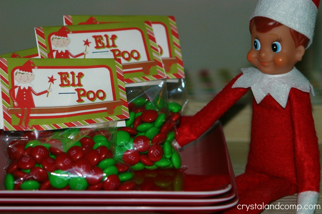 elf poo printable