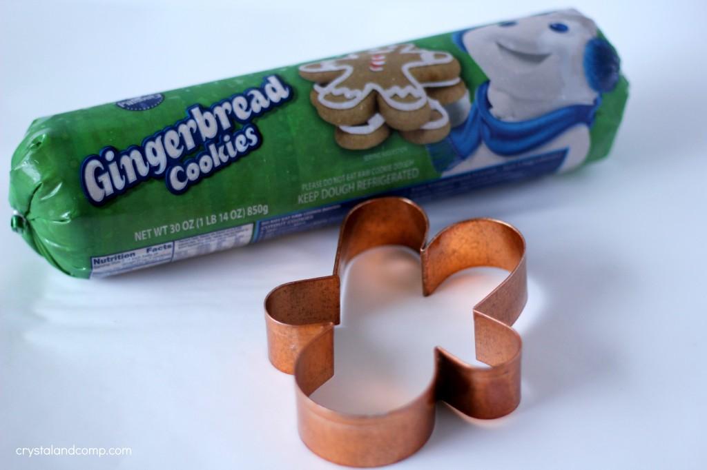 gingerbread cookie dough
