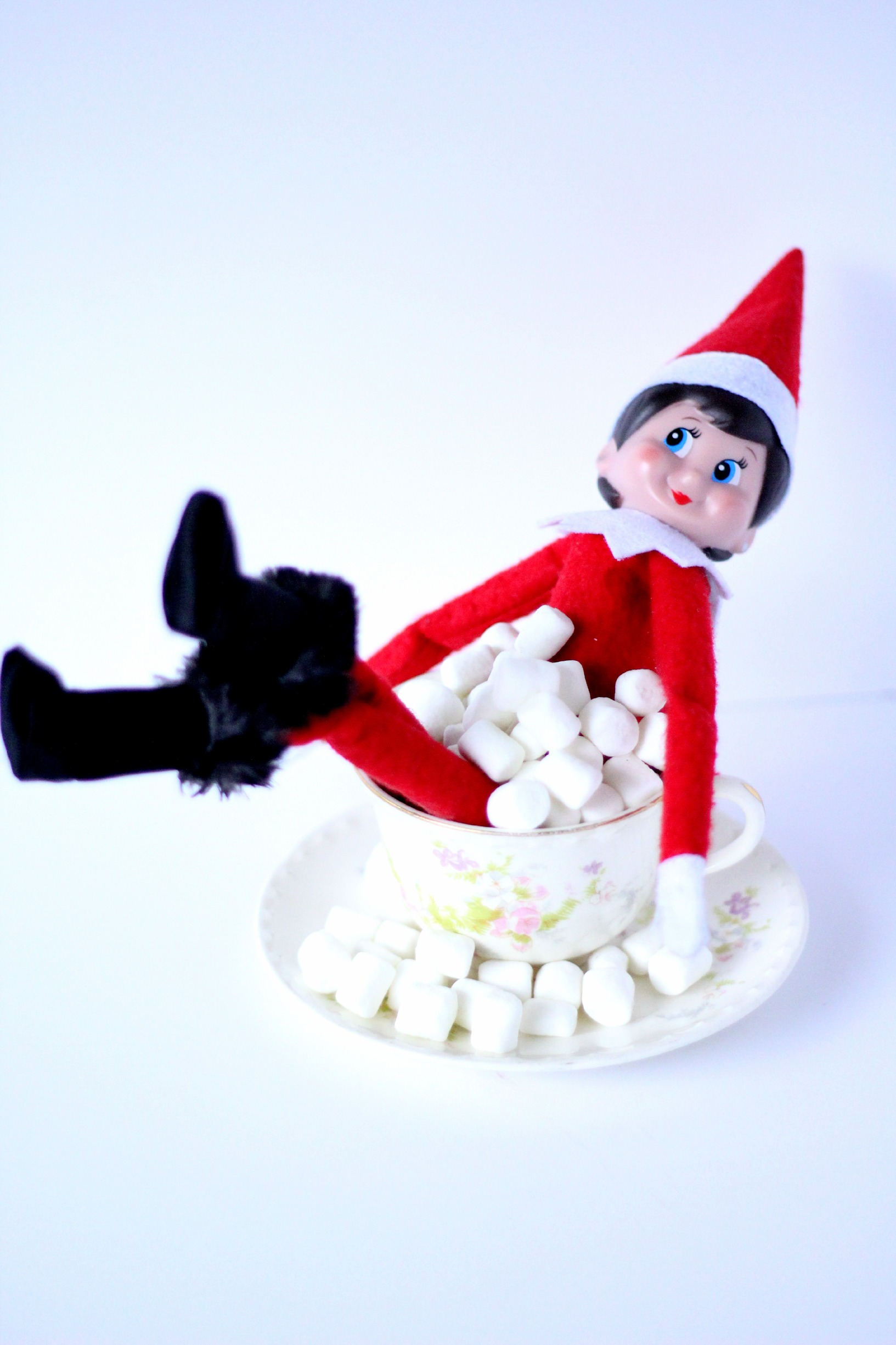 Girl Elf On The Shelf Marshmallow Bubble Bath