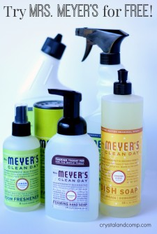 mrs meyers earth friendly cleaner