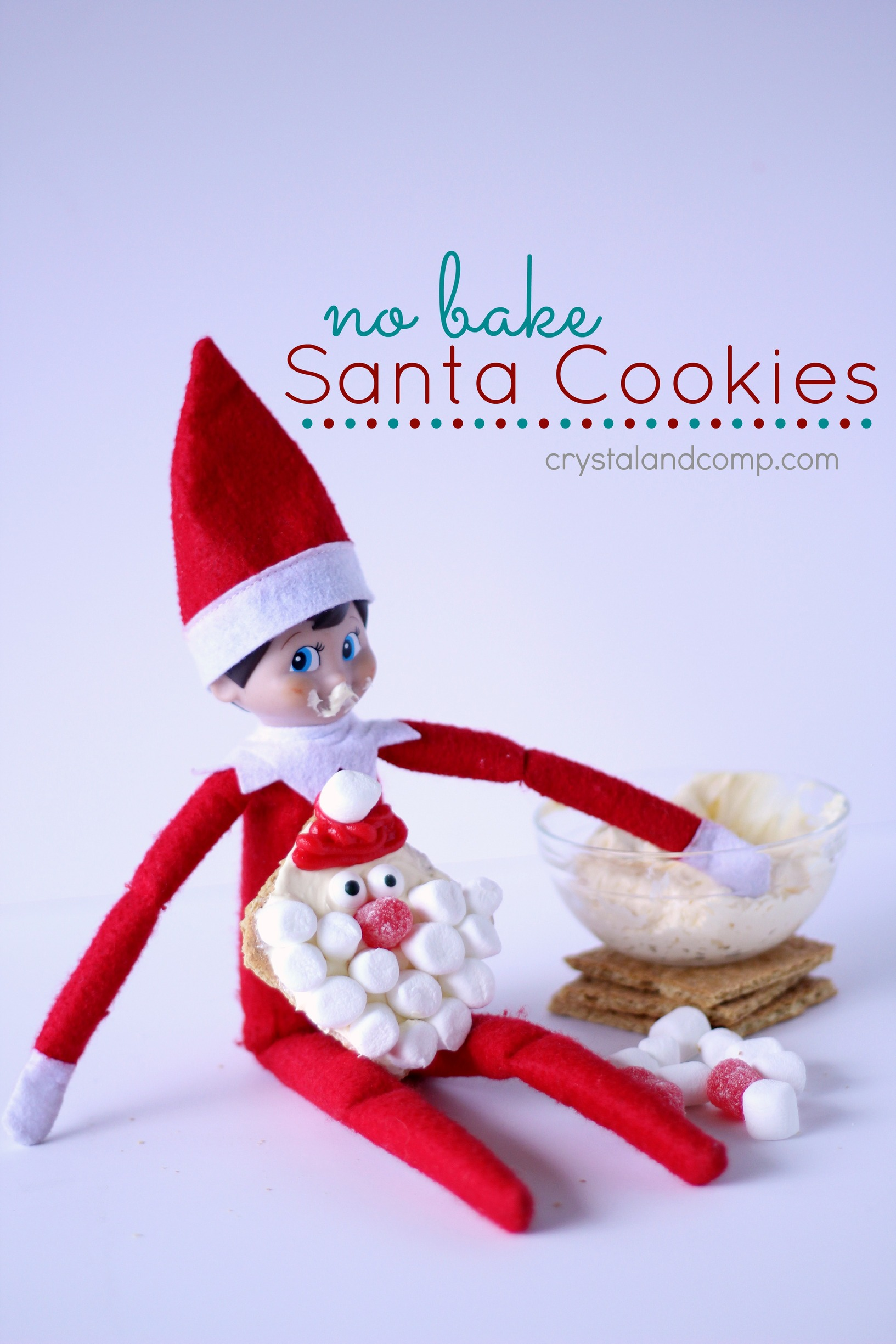 No Bake Christmas Cookies