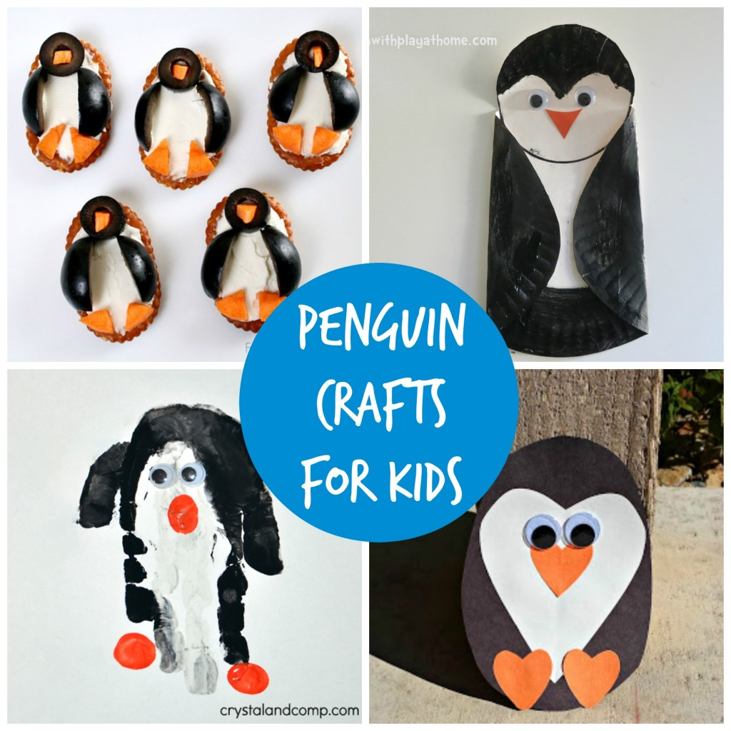 over 25 penguin crafts for kids (perfect for a unit study)
