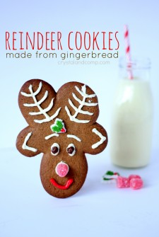 Easiest Ever Reindeer Cookies