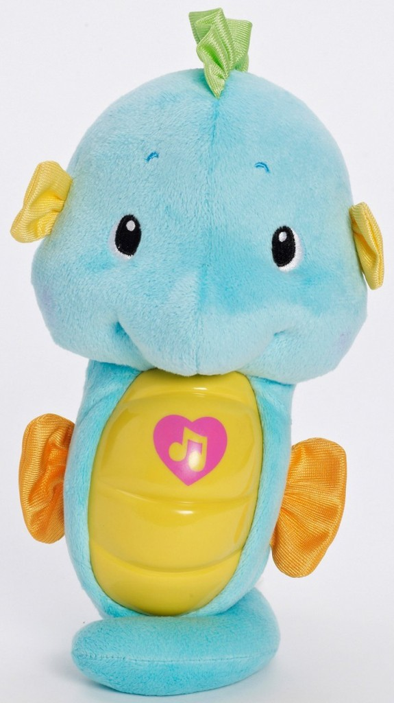 Fisher-Price Ocean Wonders Soothe and Glow Seahorse | CrystalandComp.com