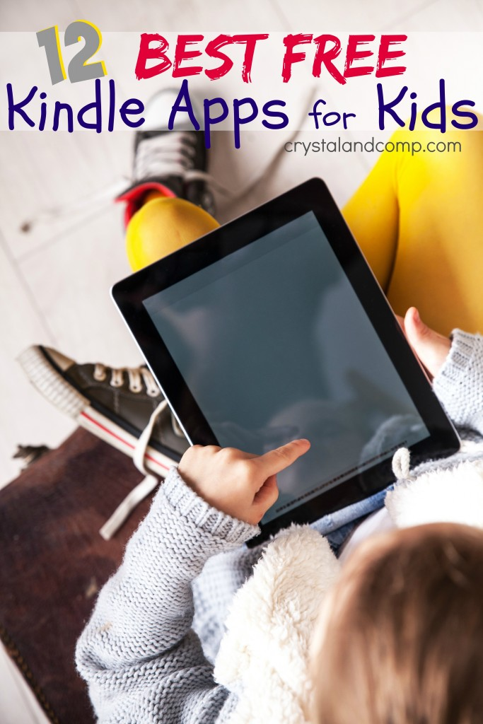 a collection of the 12 best free kindle apps for kids!