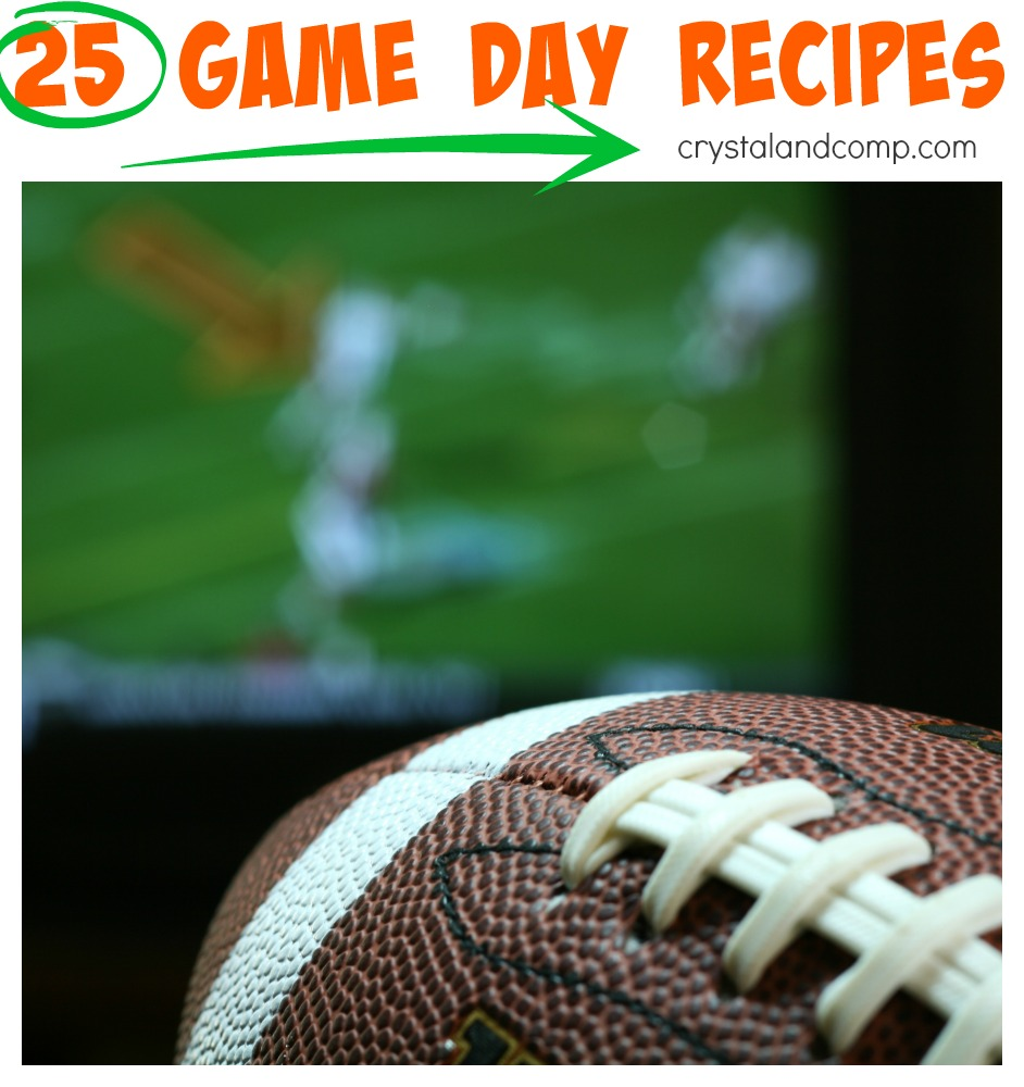 25 game day recipes for the superbowl