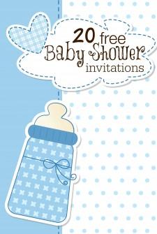 18 Printable Baby Shower Invites