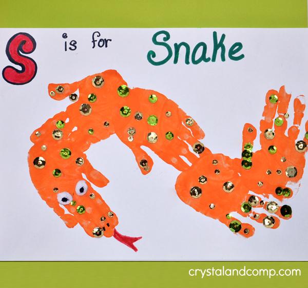 Hand Print Snake