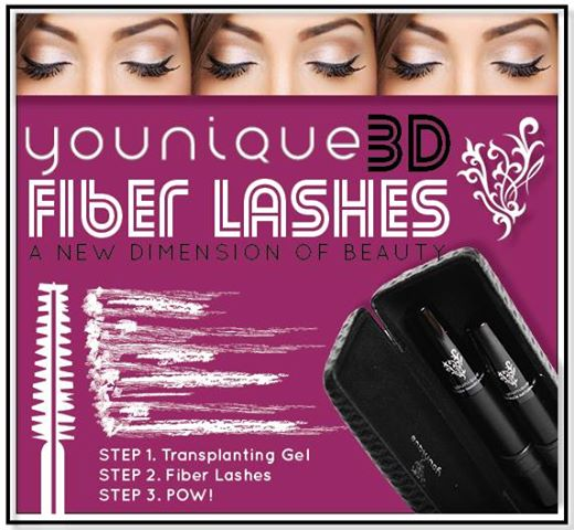 how to apply younique 3d fiber lashes