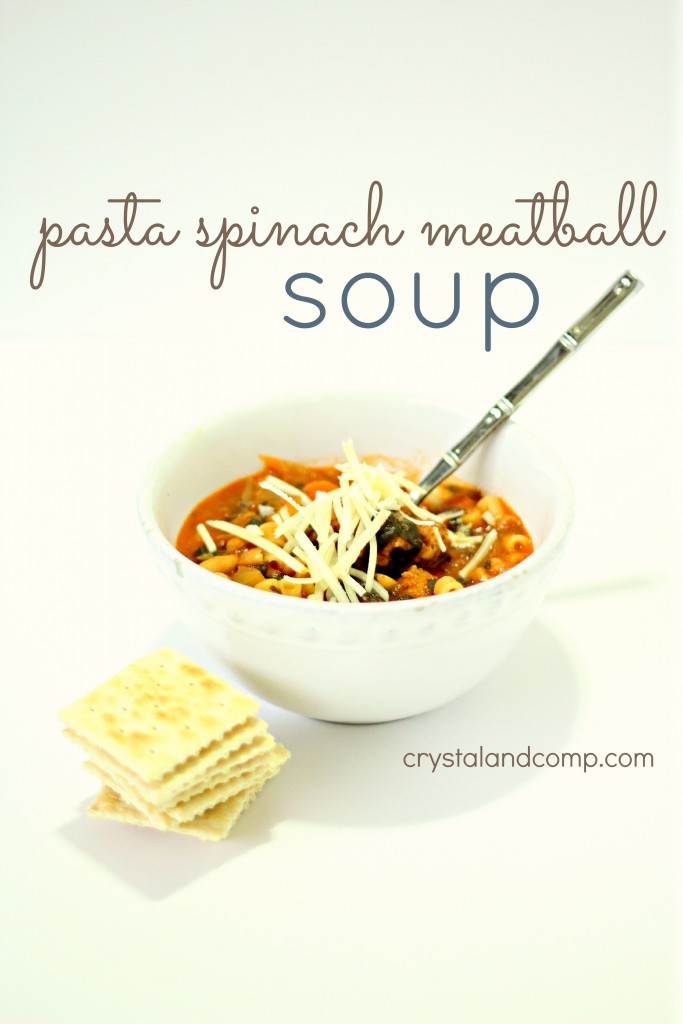 This easy meatball soup recipe is perfect for busy families!