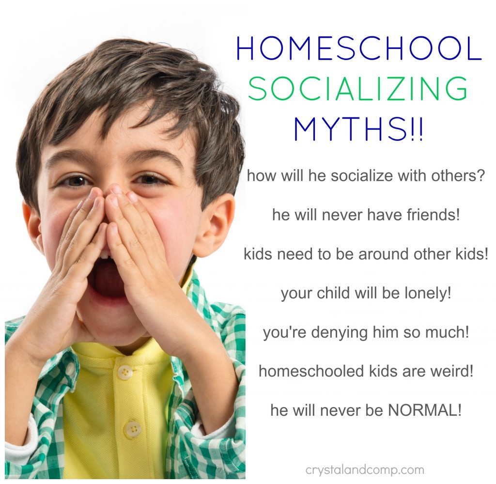 are homeschool kids denied socialization?